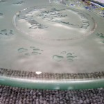 青山ケンネル・本店で10年間 お使い頂いたアートグラス