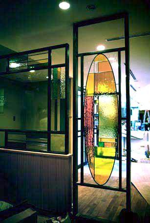 ホリディイン南海 3F Calif Garden ステンドグラス