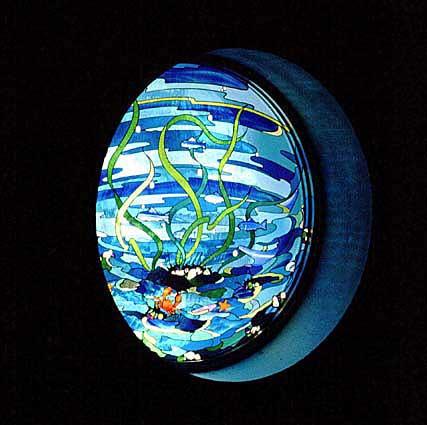 富津市民会館 ステンドグラス