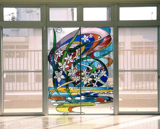 光の園 ステンドグラス