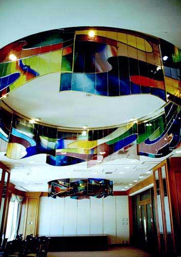 ホテル海洋 23F オーロラルーム ステンドグラス
