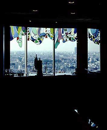 ホテル海洋 23F バーラウンジ ムーンライト ステンドグラス
