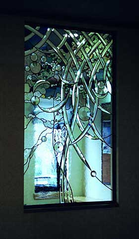 三洋ホームズ 春日部展示場 ステンドグラス