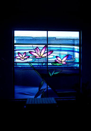 大成建設 旧・駒沢展示場 ステンドグラス