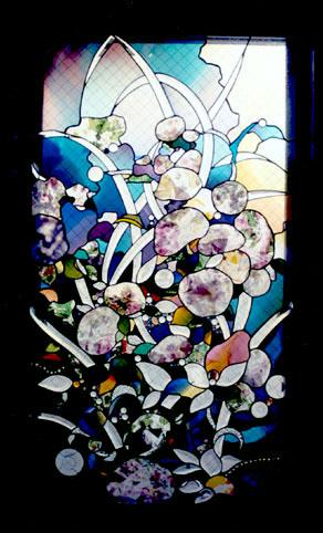 竹花邸 ステンドグラス