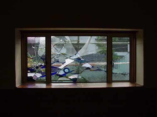 土屋邸 ステンドグラス