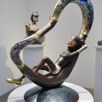 若林 真耶 展 - Metal & Glass Works - 会期:2012年06月04日(月) – 06月16日(土) 会場:ギャラリー坂巻(東京・京橋)
