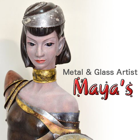 Maya's - Metal & Glass Artist -