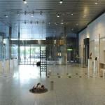 設営・会場風景01・2011年東京藝術大学鍛金研究室鍛金展