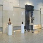 設営・会場風景02・2011年東京藝術大学鍛金研究室鍛金展