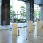 設営・会場風景03・2011年東京藝術大学鍛金研究室鍛金展