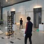 設営・会場風景06・2011年東京藝術大学鍛金研究室鍛金展