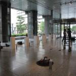 設営・会場風景07・2011年東京藝術大学鍛金研究室鍛金展
