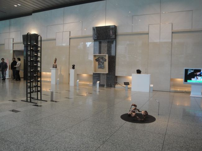 設営・会場風景08・2011年東京藝術大学鍛金研究室鍛金展