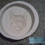 石膏型完成。