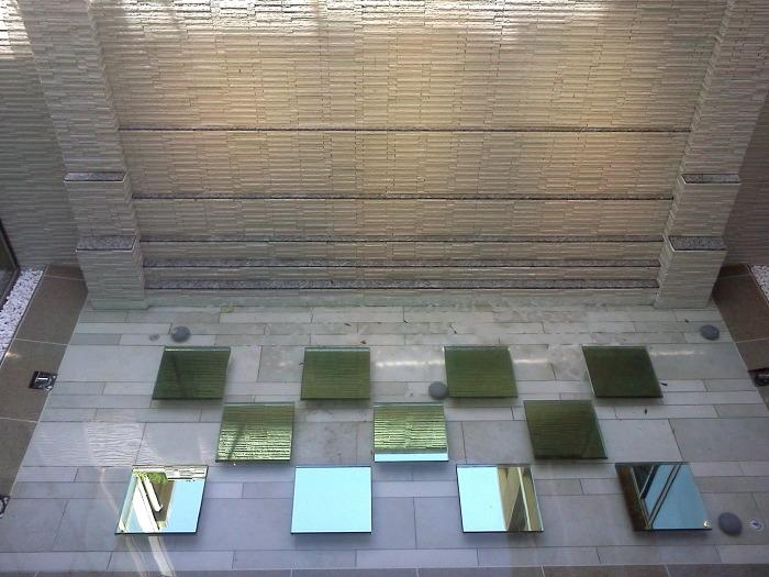 旗の台シニア住宅・水景 積層ガラス03
