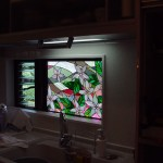 林邸・花のステンドグラス05