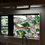 林邸・花のステンドグラス06