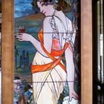 オークビレッジ・柏の葉 絵付けステンドグラス