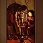 ラ・トゥール原画『大工の聖ヨセフ』
