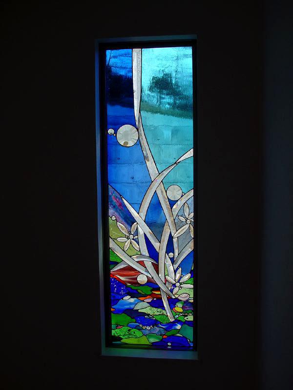 田中邸・ステンドグラスパネル (兵庫県姫路市)04