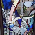 関谷邸・階段室ステンドグラス
