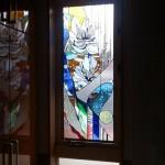 天台 住友林業の家・キッチンのステンドグラス11