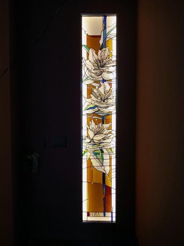 FLOWERS, アルカディア歯科・二俣川のステンドグラス