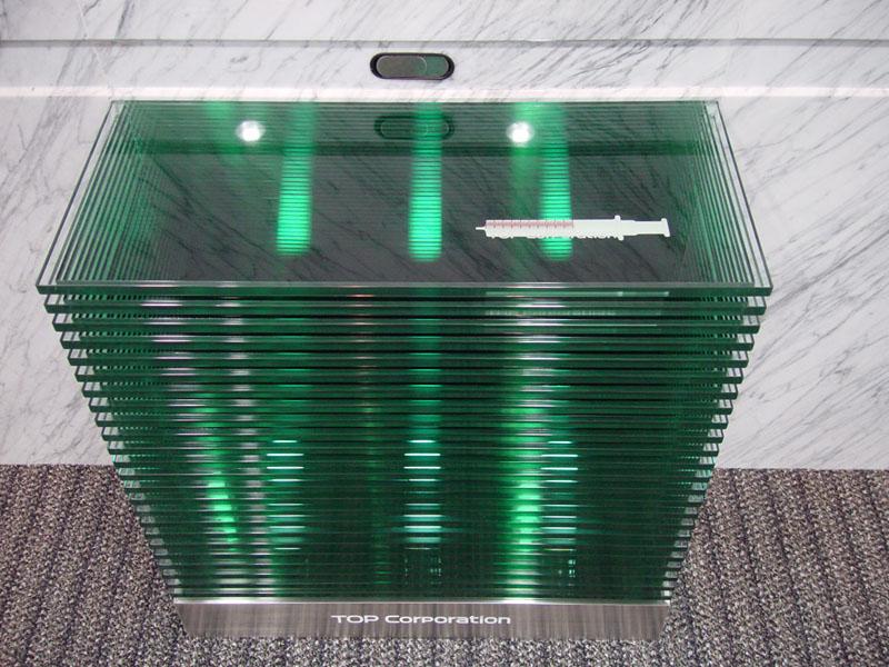 TOP 積層ガラスのカウンター 03