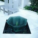 積層ガラスの泉 クリスタルチャペル