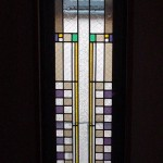 ステンドグラス(深沢7丁目)13号棟階段室