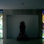 清水邸・エントランスホールのステンドグラス