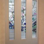 アルカディア歯科・小田原 診療室パーティションのステンドグラス01