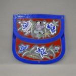 Bellecapri 中国・アンティークポーチの絵付けガラス-002
