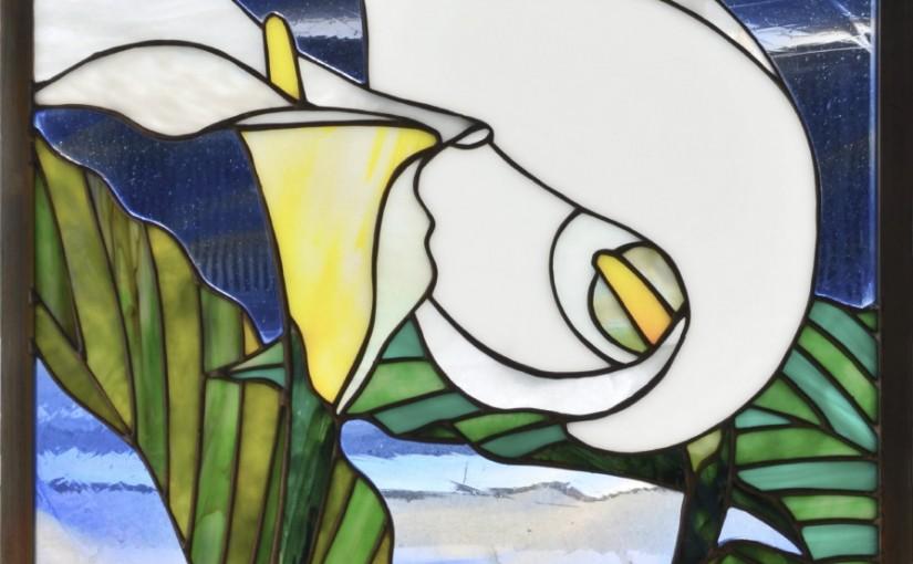 カラーのステンドグラス・セミオーダーメイド01