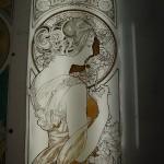Mucha・桜草 エナメル絵付け フリースタイルWorkshop-001