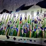 アイリスのステンドグラス・ランプシェード-019