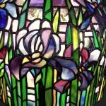 アイリスのステンドグラス・ランプシェード-040