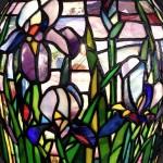 アイリスのステンドグラス・ランプシェード-041