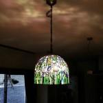 アイリスのステンドグラス・ランプシェード-049