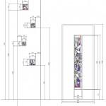 アルカディア歯科・町田 Arcadia_Door_Stained_glass