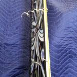 アルカディア歯科・町田 ステンドグラス、診療室ドア用のステンドグラス寸法調整