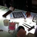 Escher・SUN & MOON 絵付けのワークショップ 2013.11.02_01