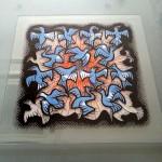Escher・SUN & MOON 絵付けのワークショップ 2013.11.02_04