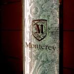 銀座・Monterey 積層ガラスのパーティション03 (C)Vis-aVis