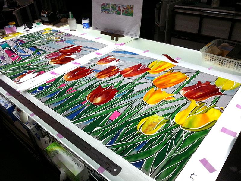 20141116_Tulip_Glass_cutting