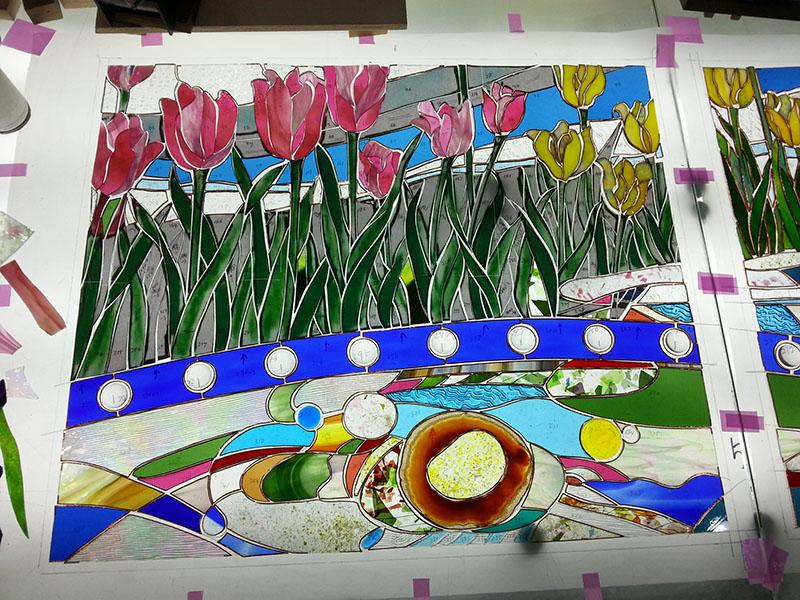20141124_Tulip_Glass_cutting_01