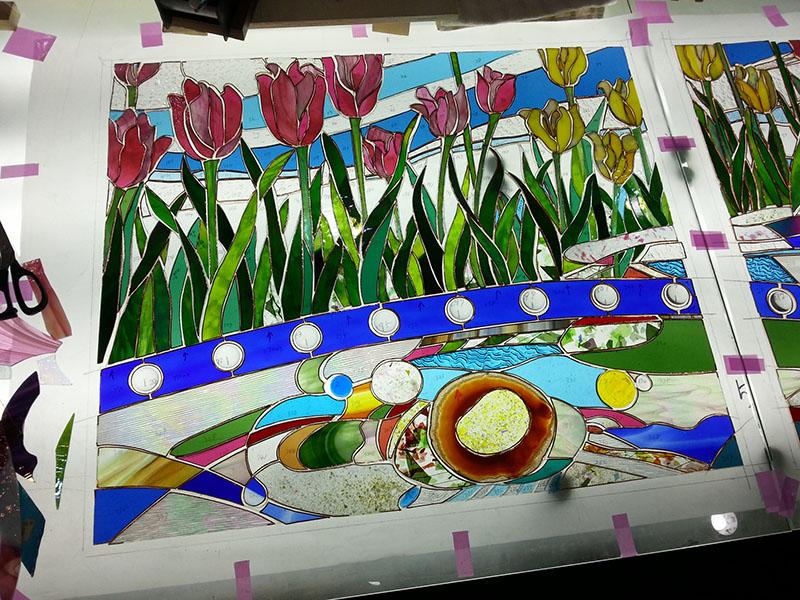 20141125_Tulip_Glass_cutting_01