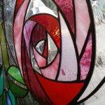 バースハーモニー助産院美しが丘・ステンドグラス制作風景